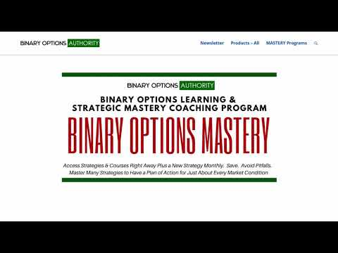 Binary Options MASTERY Coaching Program Review and Overview