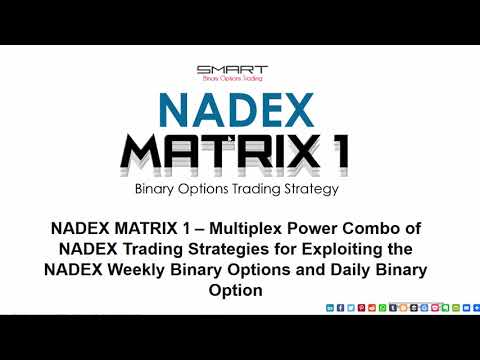 NADEX MATRIX 1 Binary Options and Stpreads Trading Strategies Review Overview